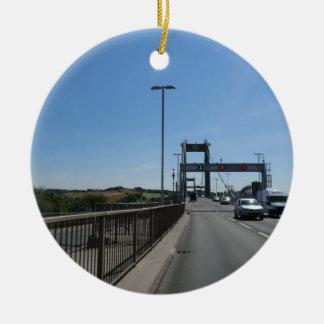 Tamar Bridge - Cornish Border Ceramic Ornament