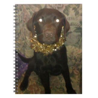 Tamar el chocolate idiota Labrador Cuaderno