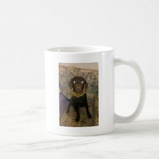 Tamar the idiotic Chocolate Labrador Coffee Mug