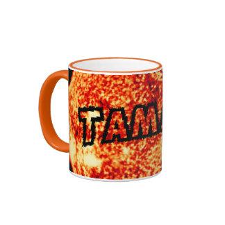 Tamara - It's A Sunny Day Ringer Coffee Mug
