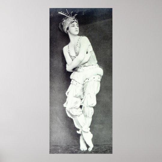 Tamara Karsavina in the role of Zobeide Poster