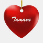 Tamara Ornament Heart