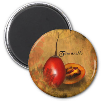 Tamarillo 2 Inch Round Magnet