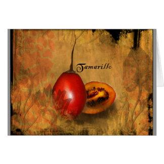 Tamarillo Card