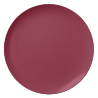 Tamarillo Melamine Plate