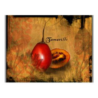 Tamarillo Postcard