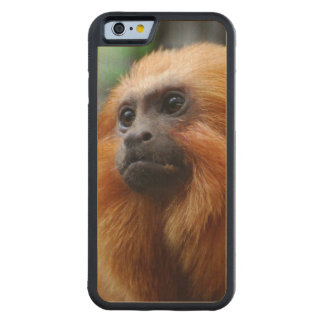 Tamarin Monkey Carved® Maple iPhone 6 Bumper