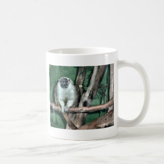 Tamarin Monkey Classic White Coffee Mug