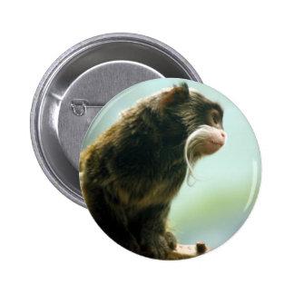 Tamarin Monkey Pinback Button