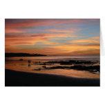 Tamarindo Playa grande Costa Rica Tarjeta De Felicitación