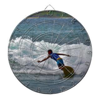 Tamarindo que practica surf