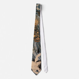 Tamatori Being Pursued by a Dragon Tie