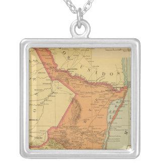 Tamaulipas Square Pendant Necklace