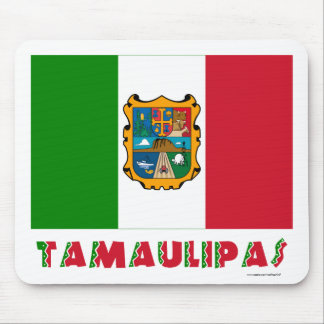 Tamaulipas Unofficial Flag Mouse Pad