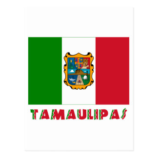 Tamaulipas Unofficial Flag Postcard