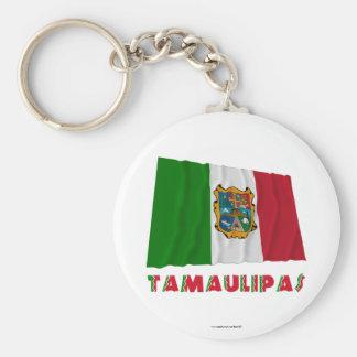 Tamaulipas Waving Unofficial Flag Keychain