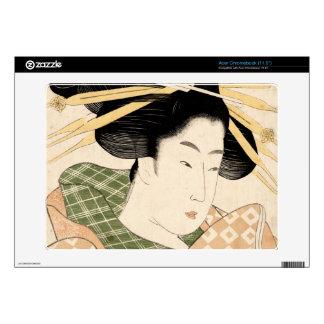 Tamaya uchi shizuka skins for acer chromebook