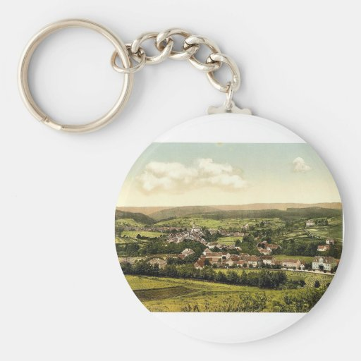 Tambach, Thuringia, Germany rare Photochrom Key Chains