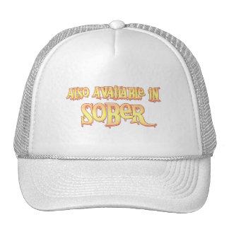 También disponible en sobrio gorras de camionero