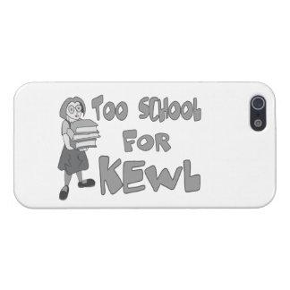 También escuela para Kewl iPhone 5 Coberturas
