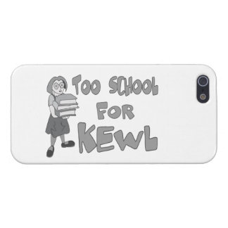 También escuela para Kewl iPhone 5 Carcasa
