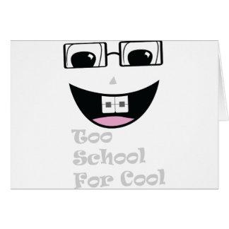También escuela tarjetas