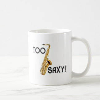 ¡También Saxy! Tazas De Café