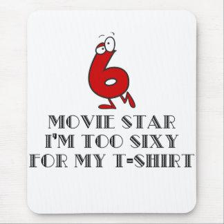 También Sixy para mi cojín de ratón de la camisa Mousepads