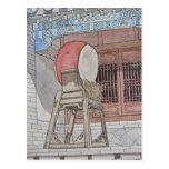 Tambor chino postal