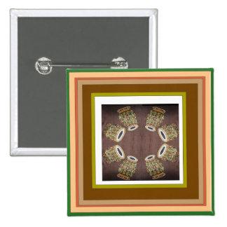 Tambor de DHOLAK usado en danzas populares de la Pin Cuadrada 5 Cm