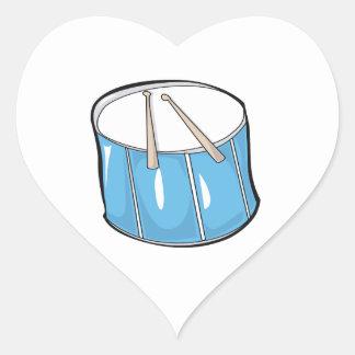 tambor look png handdrawn azul calcomanías corazones personalizadas