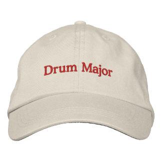 Tambor mayor gorra de beisbol