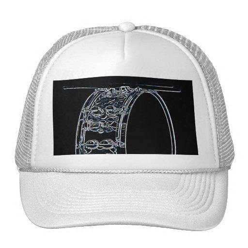 Tambor o casquillo o gorra del batería