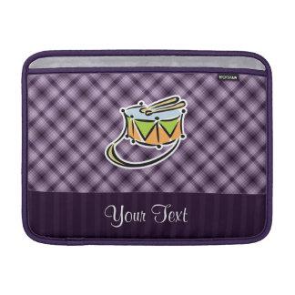 Tambor púrpura funda para macbook air