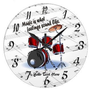 Tambor - qué sensaciones suenan como el reloj de p