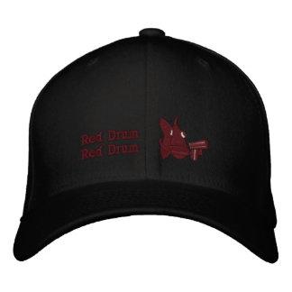 Tambor rojo - gorra bordado gorra bordada