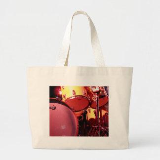 Tambores 1 bolsa de tela grande