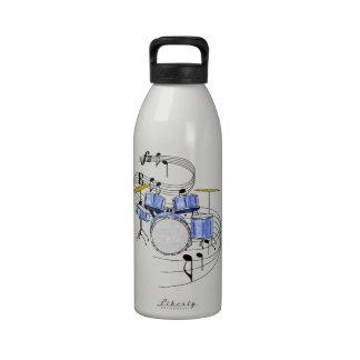 Tambores Botella De Agua