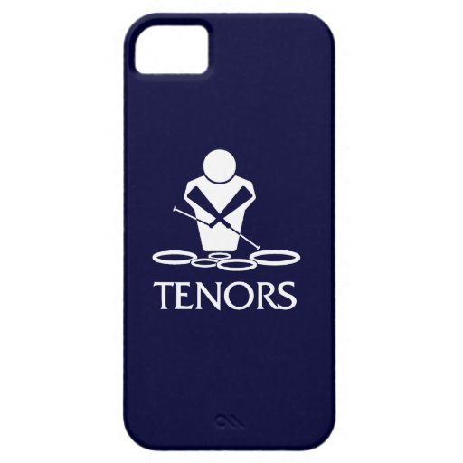 Tambores de tenor iPhone5 iPhone 5 Funda