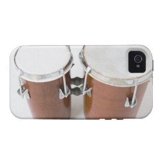 Tambores del Conga Vibe iPhone 4 Carcasa