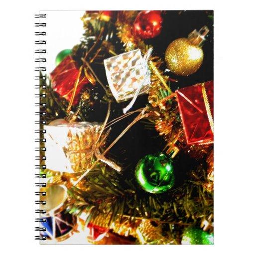 Tambores del navidad libreta