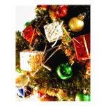 Tambores del navidad plantillas de membrete