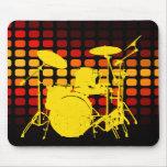 tambores: musicmeters alfombrilla de raton