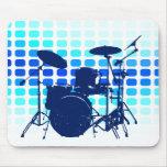 tambores: musicmeters mouse pads