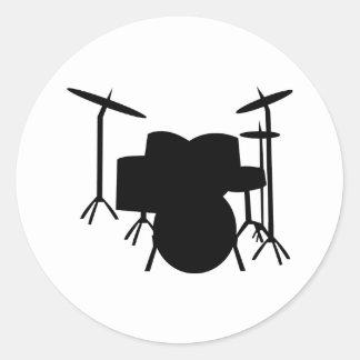 tambores etiquetas