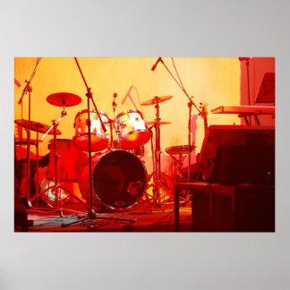 tambores póster