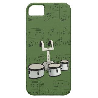 Tambores y caja del teléfono de la música que iPhone 5 Case-Mate carcasas