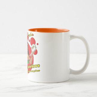 Tamborim Batucada de Samba Two-Tone Coffee Mug