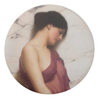 Tambourine Girl by John William Godward Eraser