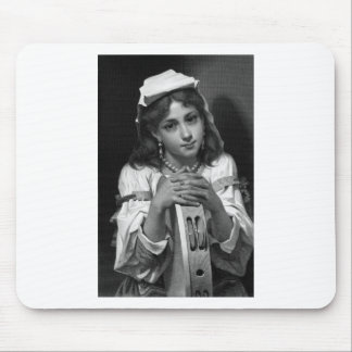 Tambourine Girl Mouse Pad